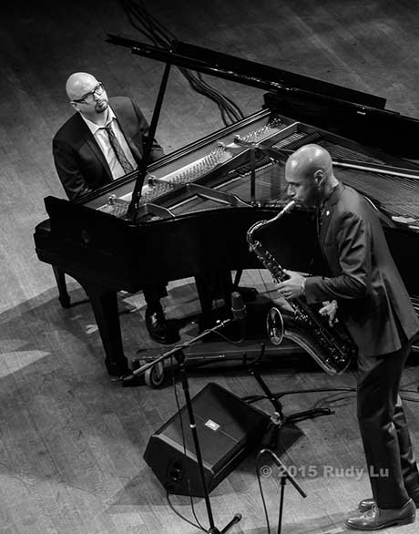 Ethan Iverson and Joshua Redman