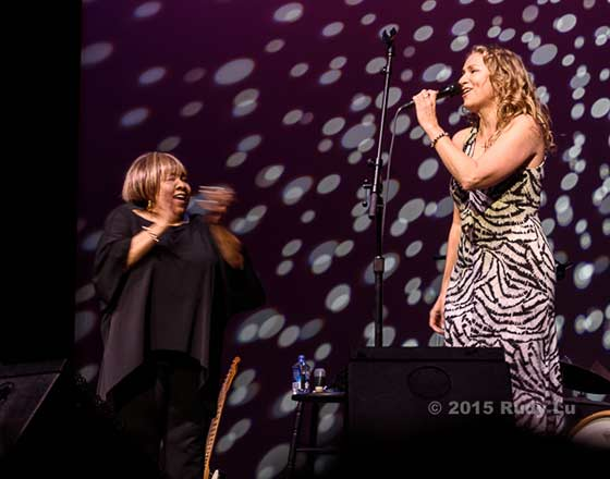 Mavis Staples and Joan Osborne