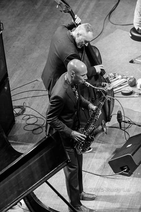 Reid Anderson and Joshua Redman