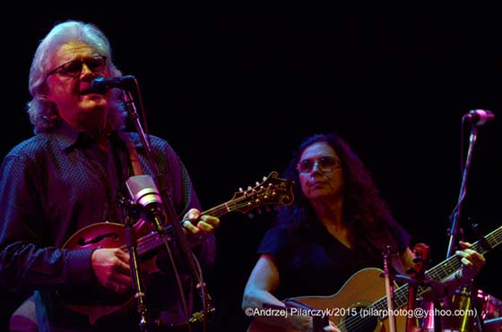 Ricky Skaggs and Sharon White