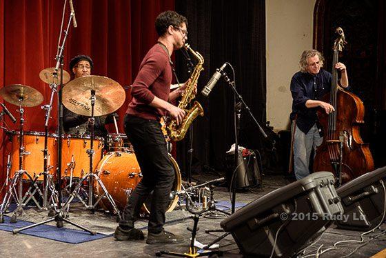Tani Taabal, Adam Siegel and Mike Bisio
