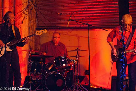 Bill Kirchen, David Carroll and Rick Richards