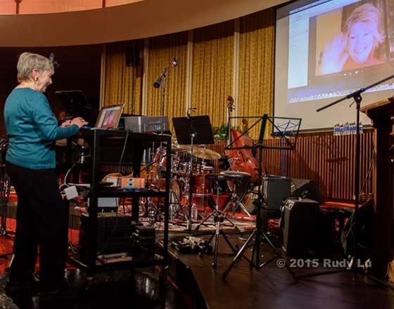 Diane Reiner and Dena DeRose via Skype