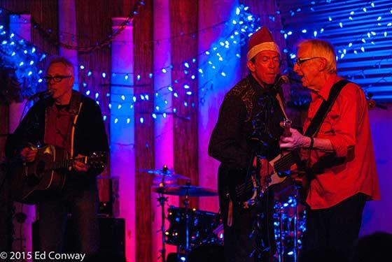 John Tichy, David Carroll and Bill Kirchen