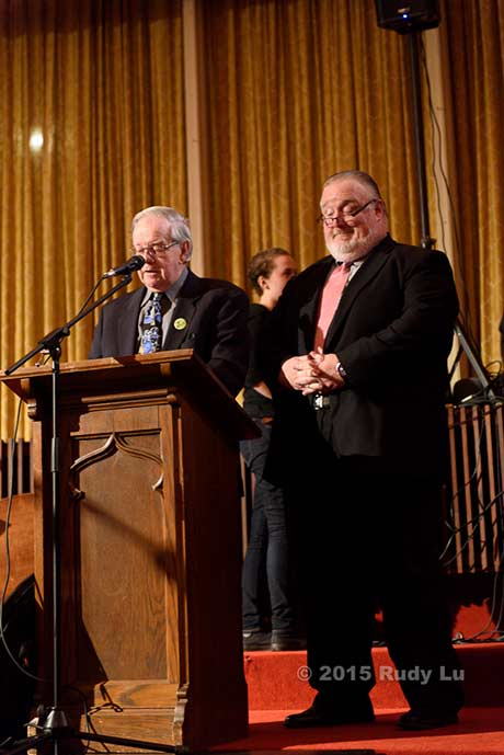Tim Coakley and Bill McCann