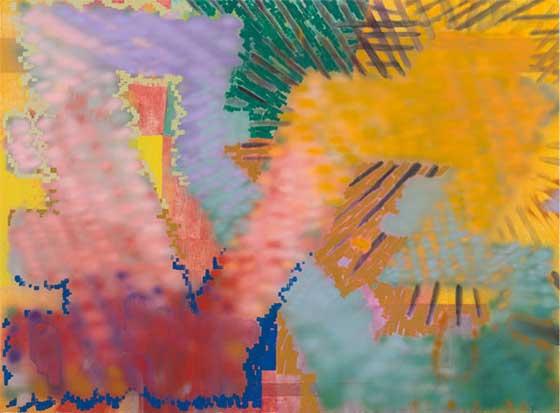 Keltie Ferris: A+R+G+O @ University Art Museum