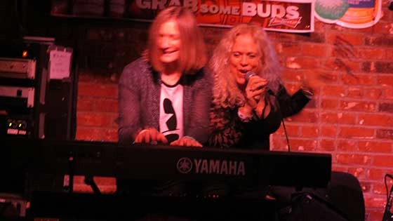 Leslie Barkman with Bridget Kally in Memphis