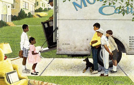 Norman Rockwell: New Kids in the Neighborhood @ The Hyde Collection