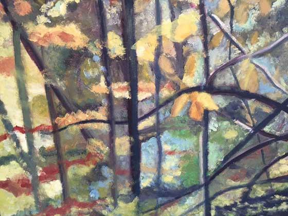Works by Hannah Mandel @ 510 Warren Street Gallery