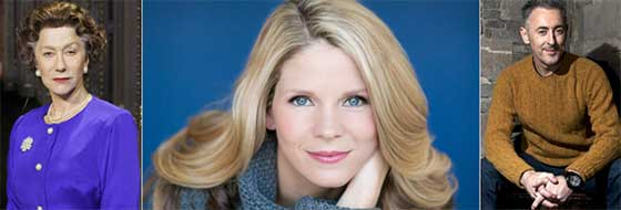 """Helen Mirron on screen May 15 with """"The Audience"""" while Kelli O'Hara takes the stage Aug. 7 and Alan Cumming headlines the Gala on July 18."""