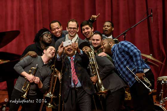 Delfeayo Marsalis, McClenty Hunter, Eric Wheeler and No BS! Brass Band