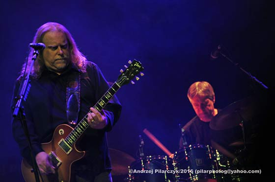 Warren Haynes and Jeff Sipe