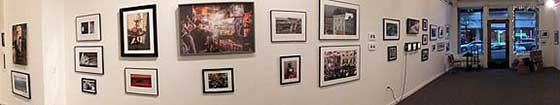 A view of the 38th Annual Photography Regional at Fulton Street Gallery