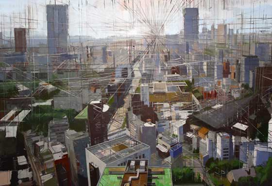 Benjamin Schwab: Overlooking Tokyo @ Lapham Gallery