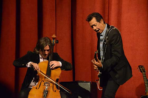Brian Standefer and Alejandro Escovedo