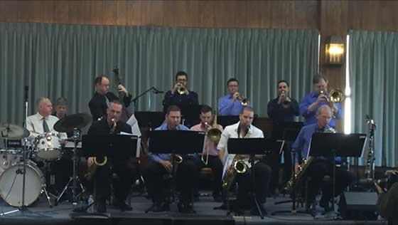 The Phil Allen/Michael Benedict Concert Jazz Band