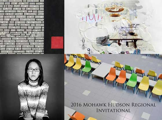 Four very diverse artists are in this year's Mohawk Hudson Regional Invitational at ACG