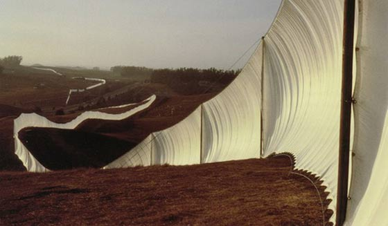 1976's Running Fence introduced the world to a new kind of environmental artist.