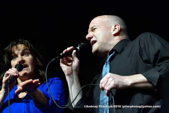 Kim Britton and Ron Comstock
