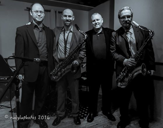 Mike Lawrence, Michael Benedict, Lee Russo and Ralph Lalama