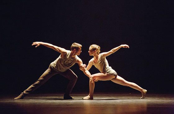 Craig Black and Emily Proctor of Aspen Santa Fe Ballet (photo: Rosalie O'Connor)