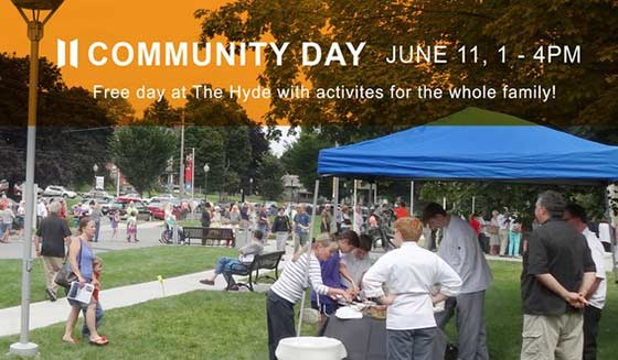 Saturday is community day at the Hyde Collection