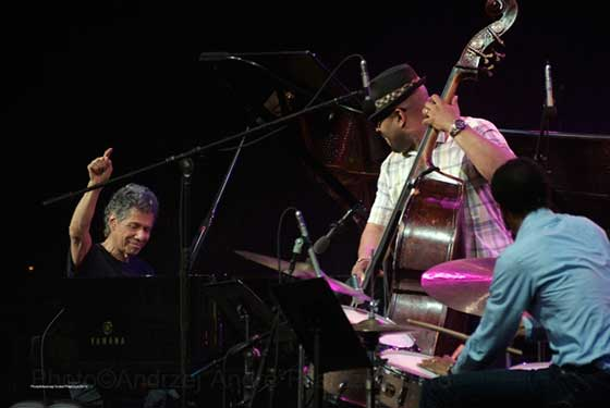 Chick Corea Trio with Christian McBride and Brian Blade