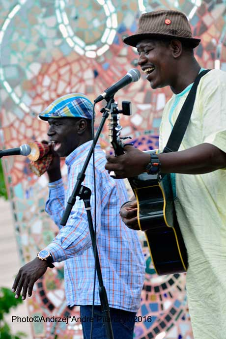 Ibrahim Nabo and Mamadou Kelly