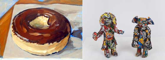 Works by Walter Robinson and Dylan Languell @ Jeff Bailey Gallery