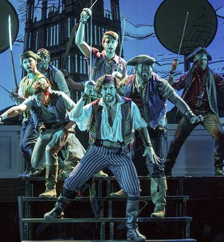 Will Swenson and  pirates ensemble (photo: John Rando)