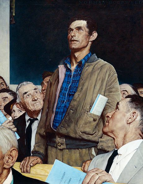 Norman Rockwell: Freedom of Speech @ Norman Rockwell Museum
