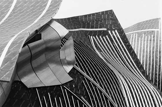 Phyllis Marsteller: Gehry Forms @ Montgomery Row