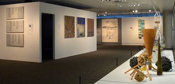 Installation view of Staying Power - photos provided by Albany International Airport Gallery