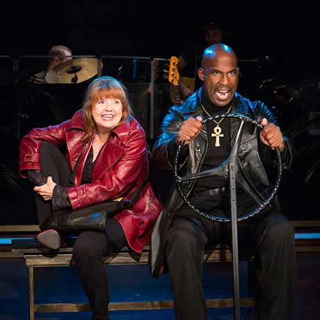 Annie Golden and Alan Green (photo: Scott Barrow)