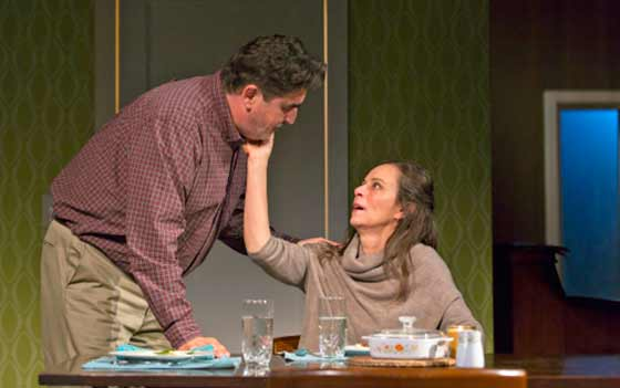 (l to r) Alfred Molina and Jane Kaczmarek (photo:  T. Charles Erickson)
