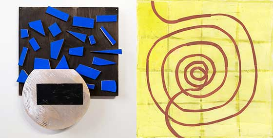Works by Christina Tenaglia and Donise English @ Palmer Gallery