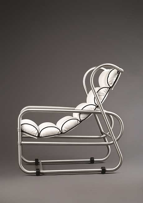 Warren McArthur Jr.: Sling Seat Lounge Chair @ Albany Institute of History and Art