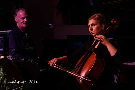 Chuck Lamb and Petia Kassarova