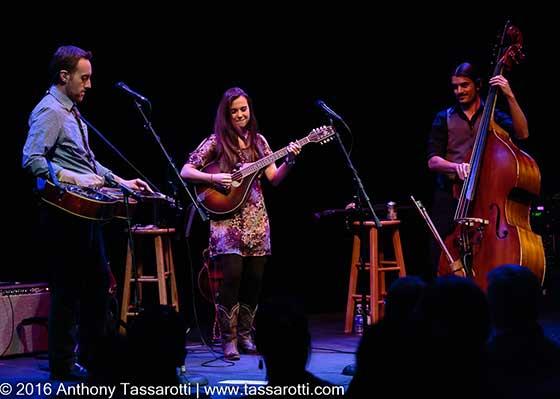 Justin Moses, Sierra Hull and Ethan Jodziewicz