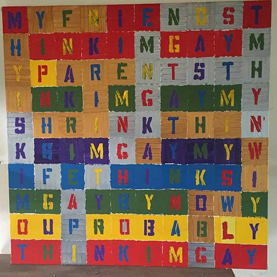 Steve Suzuki: Gay @ The Lichtenstein Center for the Arts