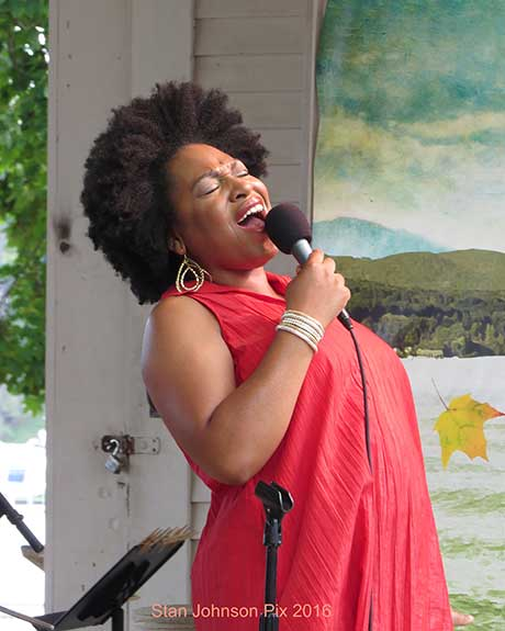 Charenee Wade @ Lake George Jazz Festival
