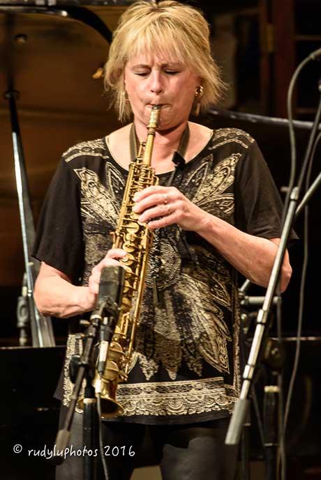Jane Bunnett (photo: Jon Flanders)
