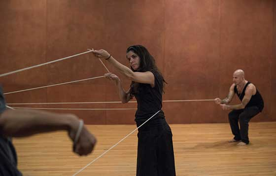 Janine Antoni, Anna Halprin and Stephen Petronio: Rope Dance @ The Tang