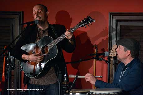 Phil Henry and Gary Moon at Caffe Lena