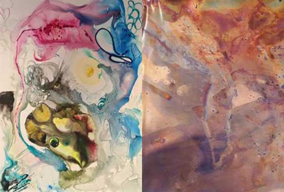 Works by Mandi Coburn and Grace Tatara @ The Arts Center