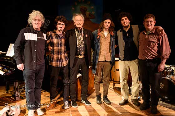 Tony Falco, Lee Falco, David Amram, Adam Amram, Jacob Bernz and David Bernz