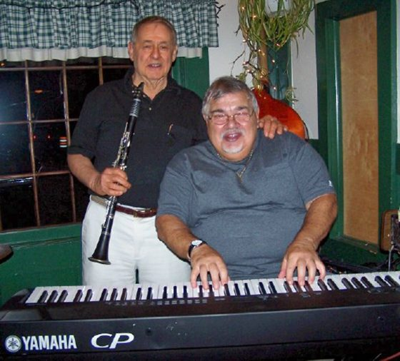 Skip Parsons and Paul Mastriani (photo by Cliff Lamere)