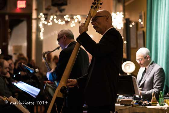 Erik Lawrence, Tony Levin and Jeff Siegel
