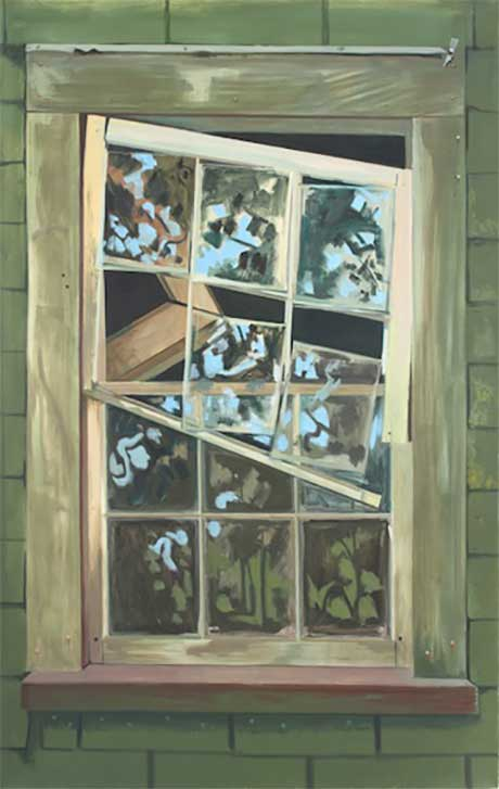 Lois Dodd: Falling Window Sash @ Art Omi