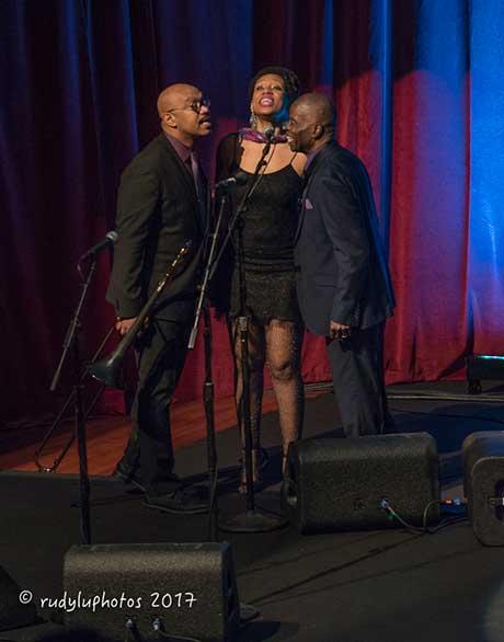 Greg Boyer, Darliene Parker and Maceo Parker